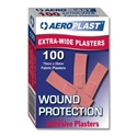 Picture of Aeroplast Fabric Plaster / bandaid Extra Wide Strip 75mm x 25mm-FAID805951- (BOX-100)