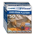 Picture of Aeroplast Blue Visual Plaster / bandaid Strip 75mm x 25mm-FAID806000- (BOX-50)