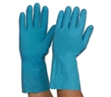 Picture of Gloves Silverlined Rubber Blue - L (9-9.5)-GLOV474745- (PAIR)