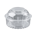 Picture of Food/Show Bowl Clear Plastic 8oz Dome Lid 240ml apprx-HCON148450- (CTN-250)