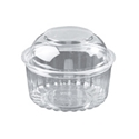 Picture of Food/Show Bowl Clear Plastic 12oz DomeLid 360mlapprx-HCON148650- (CTN-250)
