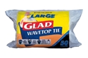 Picture of Glad Wave Top Kitchen Tidy Bin Bag Large (50/Roll)-KITB024305- (CTN-20)