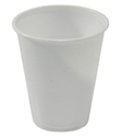 Picture of Cup Plastic White Water Cup (180 / 200ml)-PLAC115550- (SLV-50)