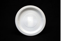 Picture of Plastic Plate White 9in/230 Extra Strong-PLAT090600- (SLV-50)