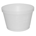 Picture of Foam Soup Container Round 16oz-SCUP125300- (SLV-25)