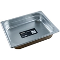 Picture of Stainless Steel Bain Marie Steam Insert Pan 1/2 size 65mm deep - 325mm x 265mm-SSTL225170- (EA)