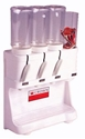 Picture of Coffee/Sugar/Chocolate/Teabag 3 Click + tea Dispenser -URNS244950- (EA)