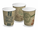 Picture of Double Wall 12oz Jute print Coffee Cup-HCUP108482- (SLV-25)