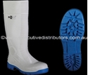 Picture of Gumboot White Boot / Blue Sole Maxisafe Administrator-APPR489806- (PAIR)