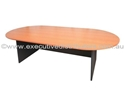 Picture of Boardroom Table -Boat Shaped- 2400mm x 1200mm-FURN358495- (EA)