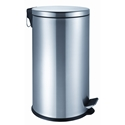 Picture of 40L Stainless Steel Round Pedal Bin-BINS386208- (EA)