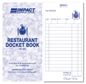 Picture for category Docket Books, Cafe, Restaurant and Takeaway