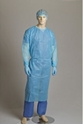 Picture of Gown Polypropylene Clinical White - One Size Fits Most-APPR495225- (EA)