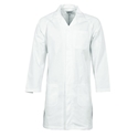 Picture of Gown Lab Coat Polyester / Cotton with pocket 200gsm WHITE-APPR495250- (EA)
