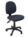 Picture of Office Chair - Medium Back Operator Chair  Gas lift & Seat & Back tilt- Black Fabric Only-FURN358697- (EA)