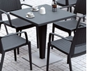 Picture of Cafe Table Complete -800mm Square with base-FURN357400- (EA)