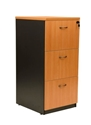 Picture of Lockable Timber Filing Cabinet 990H x 465W x 600D (3 Drawer)-FURN359221- (EA)