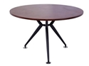 Picture of Meeting Table - 1200mm Round - Appletree Coloured Top / Metal Base - Managers Range-FURN360442- (EA)