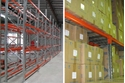 Picture of Pallet Racking (16 Pallet Assy) 10.94m(L x 2.9m(H) x 0.84m(W) -2 rail Levels & SWL of 2000kg / Beam-STOR900100- (EA)