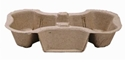 Picture of 2 Cup Egg Board Carry Tray-TRAY164806- (CTN-200)