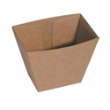 Picture of Cardboard Upright Chip Cup Kraft Brown Board - 70mm x 45mm Base Dimensions x 90mm High-TRAY164978- (CTN-500)