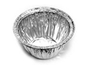 Picture of Pudding Bowl Round Foil Container - 42mm Round Base x 43mm High-FCON135445- (CTN-500)