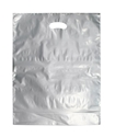 Picture of Boutique Plastic Bags 530x415mm Silver-BOUB022945- (CTN-500)