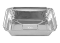 Picture of 7117 Rectangular Foil Container (Small) - 126mm x 101mm Base Dimensions x 26mm High-FCON135595- (CTN-500)