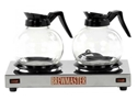 Picture of Coffee Twin Hot Plates to Suit Drip Filter Machine Stainless Steel BOEMA-URNS244915- (EA)