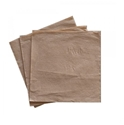 Picture of Napkin - Recycled Kraft Brown Range - 1 Ply Luncheon Napkin QTR Fold-NAPK188607- (SLV-500)