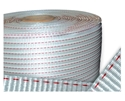 Picture of Poly Woven Strapping 19mm wide -2 Red Lines-STRP693705- (EA)