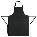 Picture of Apron - Butchers / Kitchen / Cafe Black 710mm(L) x 970mm(W)-APPR493933- (EA)