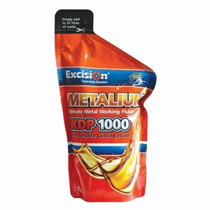 Picture of Metalium XDP1000 Liquid Cutting Fluid-Water Soluble Lubricoolant 1L Easypack-CHEM405963- (EA)