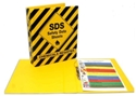 Picture of Safety Data Sheet (MSDS) Chemical Register A4 4 Ring Folder-MSAF860080- (EA)