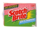 Picture of Scotch-Brite Sponge Anti-Bacterial Multi Purpose - Pack of 4-SCRU374520- (EA)