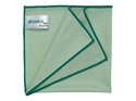 Picture of Microfibre Cloth with Microban Antimicrobial Protection 40cm x 40cm - Green - Wypall-WIPE378020- (SLV-6)