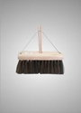 Picture of 350mm Prolene Yard Broom/ Handle and Stay - c/w 25mm Timber Handle-CLEA372165- (EA)