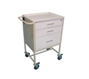 Picture of Medication Cart - 3 Drawer - 640mm x 500mm x 1020mm-CLEA384745- (EA)