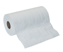 Picture of White Scrim Towel Perforated Wipe on a Roll 24.5cm x 70mt-WIPE379900- (ROLL)