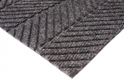 Picture of Micah Premier Entrance Matting -Smooth Back- in Blacksmoke Fully Edged 2100 x 900mm-MATT359210- (EA)