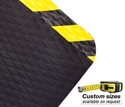 Picture of Comfort Ease Extreme Mat #370Y Anti-Fatigue Nitrile with Yellow bevelled edges - CUSTOM SIZE-MATT359992- (EA)