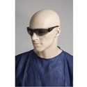 Picture of Safety Glasses - Smoke Lens -Wraparound Standard-EYES824705- (PR)