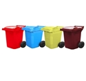 Picture of 60 Litre Wheelie Bin - RED-BINS386390- (EA)