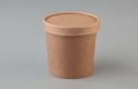 Picture of 12oz Betakraft Eco Food Container and Lid Combo - 90mm x 75mm x 86mm-BIOD079415- (CTN-250)