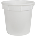 Picture of Plastic 84L Round Nally Bin / Bucket - 540mm x 610mm - Colour: Natural-STOR900765- (EA)