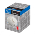 Picture of P2 Standard Dome Disposable Respirators With Valve Moulded-RESP820415- (BOX-12)