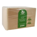 Picture of Enviro 1 Ply Lunch Napkin - Brown Kraft-BIOD080600- (CTN-3000)