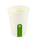 Picture of 12oz Biodegradable Single Wall White Coffee Cup-BIOD076222- (CTN-1000)