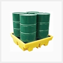 Picture of Bunded Pallet - 4 Drum PE Forkliftable - 410L Sump-MSAF838900- (EA)