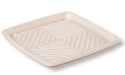 """Picture of Natural Fibre Compostable Platter 12"""" - 305x305x27mm (Lid Sold Seperately)-BIOD080430- (CTN-50)"""